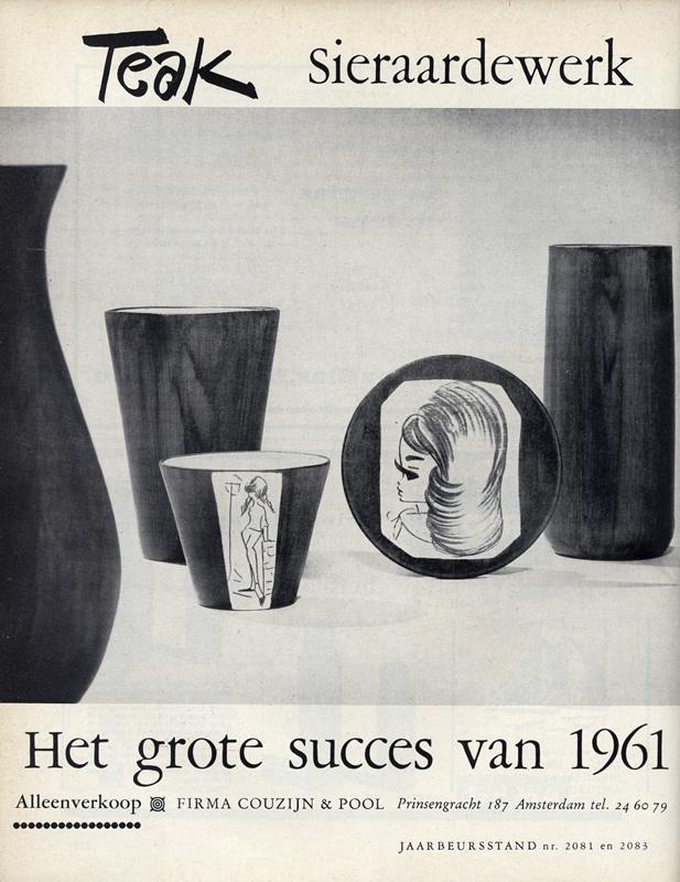 Advertentie in Gemengde Branche, nr. 8, 1961. Herkomst: bibliotheek RU, Nijmegen