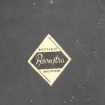 Detail bedrijfssticker 'Potterie Boonstra'