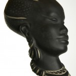 L' Ancora (Kroon), gesigneerd Kroon 305 + sticker 'Kenia'