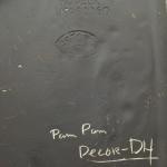 Voorbeeld signatuur Dries Holten + decornaam+bedrijfsstempel