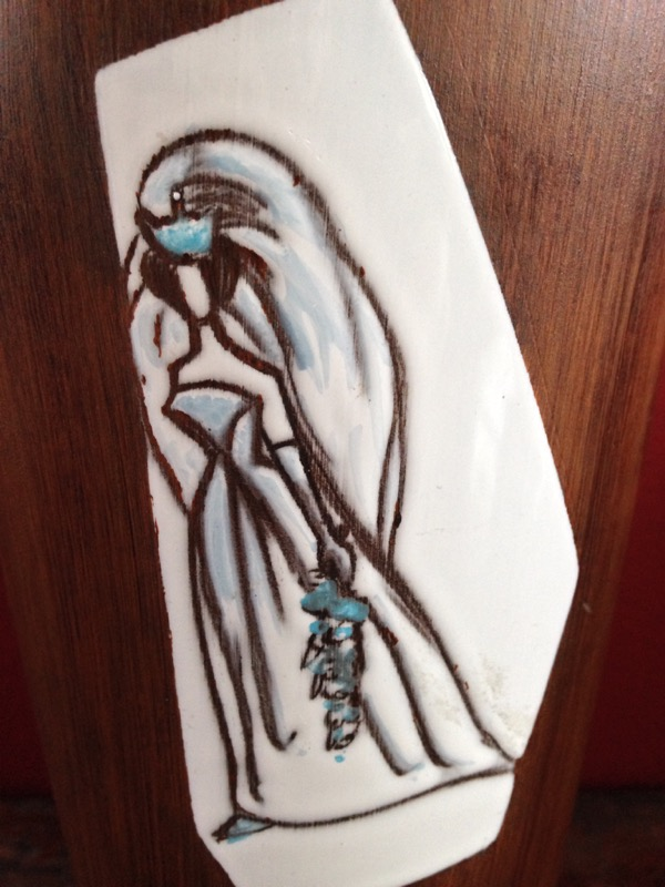 Detail bruid