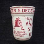 Apeldoorn, 1951 herinneringsbeker 50 jaar Apeldoornse Sinterklaas Kommissie