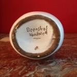 Vaas, gesigneerd 'Boonstra's handwerk', 26 cm